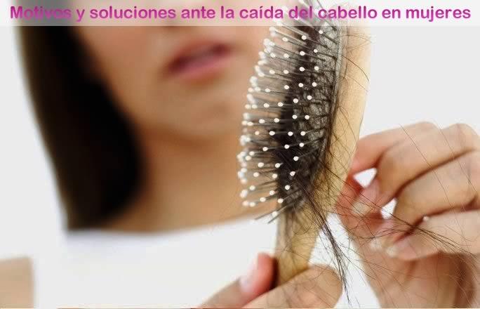 motivos y soluciones de la caída del cabello en mujeres