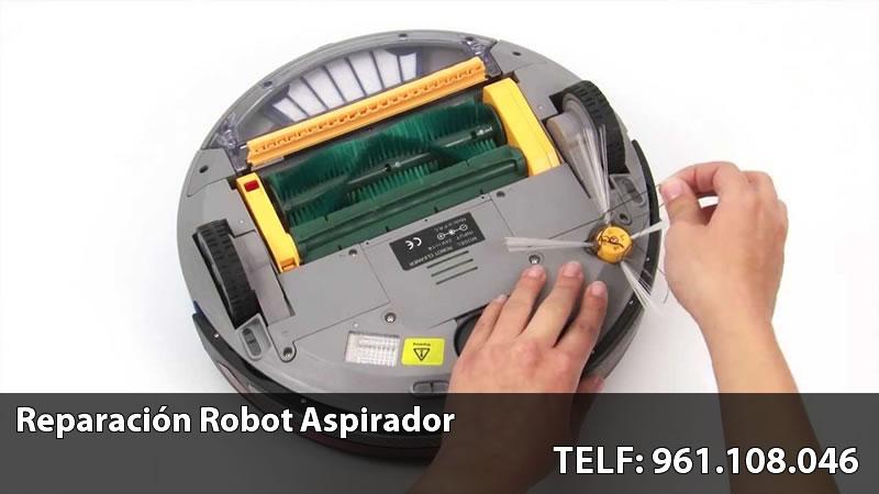 servicio técnico de robot aspirador en Valencia